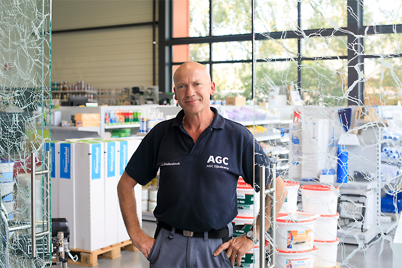 AGC Glass Nederland websitefotografie